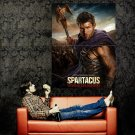 Spartacus War Of The Damned TV Series Huge 47x35 Print Poster