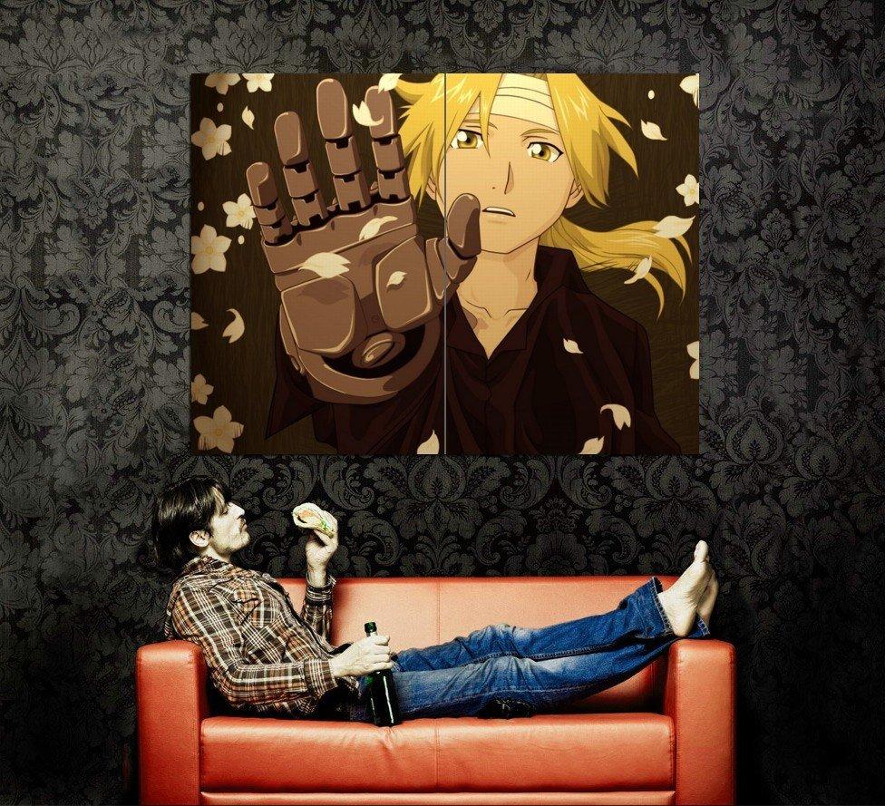 Fullmetal Alchemist Brotherhood Anime Art Huge 47x35 Print Poster