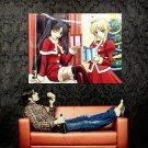 Fate Stay Night Christmas Art Huge 47x35 Print Poster