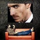 Michael Fassbender Actor Tattoo Huge 47x35 Print Poster