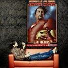 Iron Man Marvel Comics Propaganda Art Huge 47x35 Print Poster