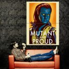 X Men Mystique Marvel Propaganda Art Huge 47x35 Print Poster