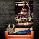 Michael Jordan Reverse Layup NBA Huge 47x35 Print Poster