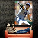 Clayton Kershaw Los Angeles Dodgers MLB Huge 47x35 Print Poster