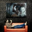 Wrath Of The Titans Cyclops Movie Huge 47x35 Print Poster