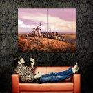 Native American Warriors Indians Art Huge 47x35 Print Poster