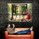 Hina Kagiyama Painting Anime Art Huge 47x35 Print Poster