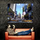 New York City Times Square NYC Huge 47x35 Print Poster