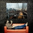 New York City Bridge NYC Manhattan Huge 47x35 Print Poster
