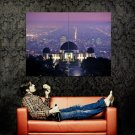 Griffith Observatory Los Angeles Cityscape Huge 47x35 Print Poster