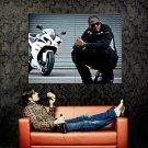 Taio Cruz Bike R B Singer Music Huge 47x35 Print Poster