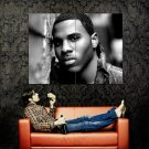 Jason Derulo BW R B Singer Music Huge 47x35 Print Poster