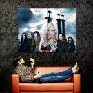 Leaves Eyes Symphonic Metal Music Huge 47x35 Print Poster