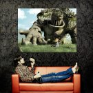 Giant Colossus Fantasy Art Huge 47x35 Print Poster