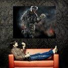 Warface Skull Crytek Art Video Game Huge 47x35 Print Poster