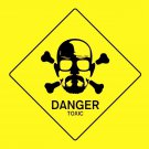 Breaking Bad TV Series Danger Toxic 32x24 Print POSTER