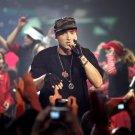 Eminem Rapping Live Hip Hop Music 32x24 Print POSTER