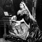 Queen Victoria Royal United Kingdom 1883 Art 32x24 Print POSTER