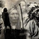 Native Americans Chief BW Indians 32x24 POSTER