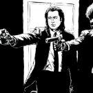 Jules Winnfield Vincent Vega Pulp Fiction Movie 32x24 POSTER