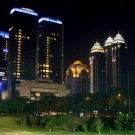 Jakarta Night City Lights Indonesia Around The World 32x24 POSTER