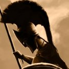 King Leonidas Art 300 Gerard Butler Movie 32x24 POSTER