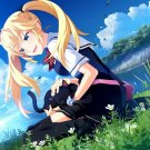 Grisaia No Kajitsu Girl Cat Anime Art 32x24 POSTER