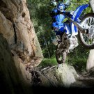Yamaha WR450 Offroad Bike Motorcycle 32x24 Print POSTER