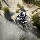 Derbi Senda DRD X Treme 50R Offroad Bike 32x24 Print POSTER