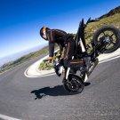 KTM 690 Duke Trick Super Sport Bike 32x24 Print POSTER
