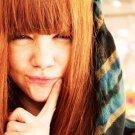 Foxy Redhead Girl Pretty Face 32x24 Print POSTER