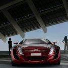Citroen Red Front Future Concept Car 32x24 Print POSTER