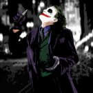 Heath Ledger Joker Batman Dark Knight 32x24 Print POSTER