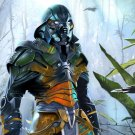Jungle Warrior Armor Fantasy Art 32x24 Print POSTER