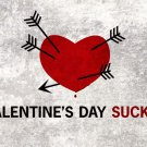 Valentine S Day Sucks Heart Arrows Holiday 32x24 Print Poster
