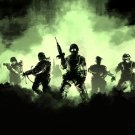 Soldiers Gas Cloud Art Weapon 32x24 Print POSTER
