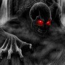 Crawling Nightmare Skeleton Skull 32x24 Print Poster