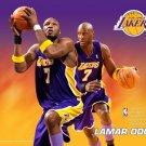 Lamar Odom Los Angeles Lakers NBA 32x24 Print Poster