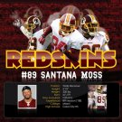 Santana Moss Washington Redskins NFL 32x24 Print Poster