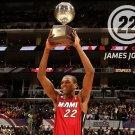 James Jones Winner Miami Heat NBA 32x24 Print Poster