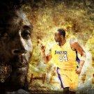 Kobe Bryant LA Lakers NBA Basketball 32x24 Print Poster