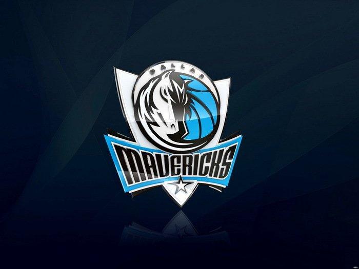 Dallas Mavericks Logo NBA Basketball 32x24 Print Poster
