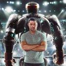 Real Steel Movie Fantasy Hugh Jackman 32x24 Print POSTER
