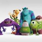 Monsters University MU Cartoon Movie Sullivan Mike 32x24 Print POSTER
