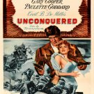 Unconquered 1947 Retro Movie Vintage 32x24 Print Poster