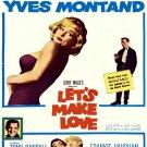 Let S Make Love Marilyn Monroe Retro Movie 32x24 Print Poster