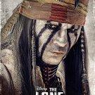 The Lone Ranger Tonto Depp Movie 2013 32x24 Print Poster