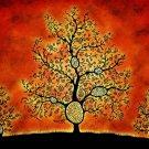 Fantasy Tree Drawing Art 32x24 Print Poster