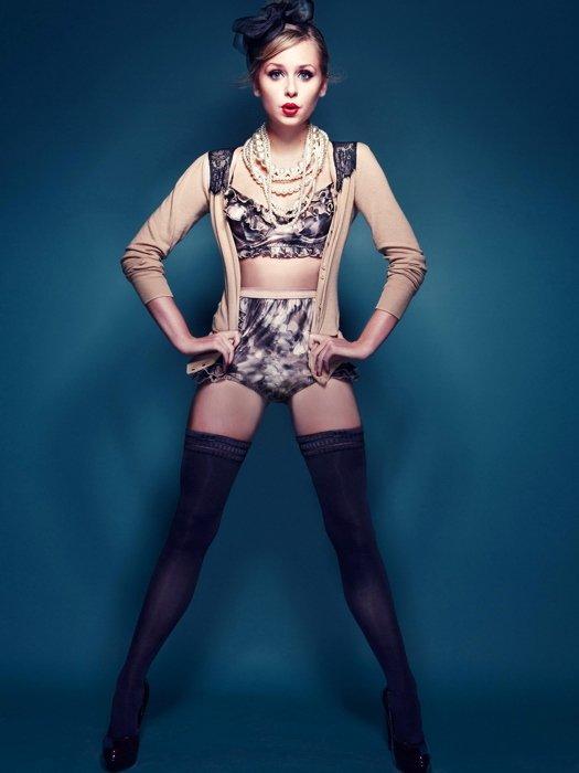Diana Vickers Hot Actress Sexy Stocking 32x24 Print Poster