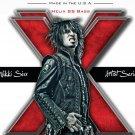 Nikki Sixx Motley Crue Music 32x24 Print Poster